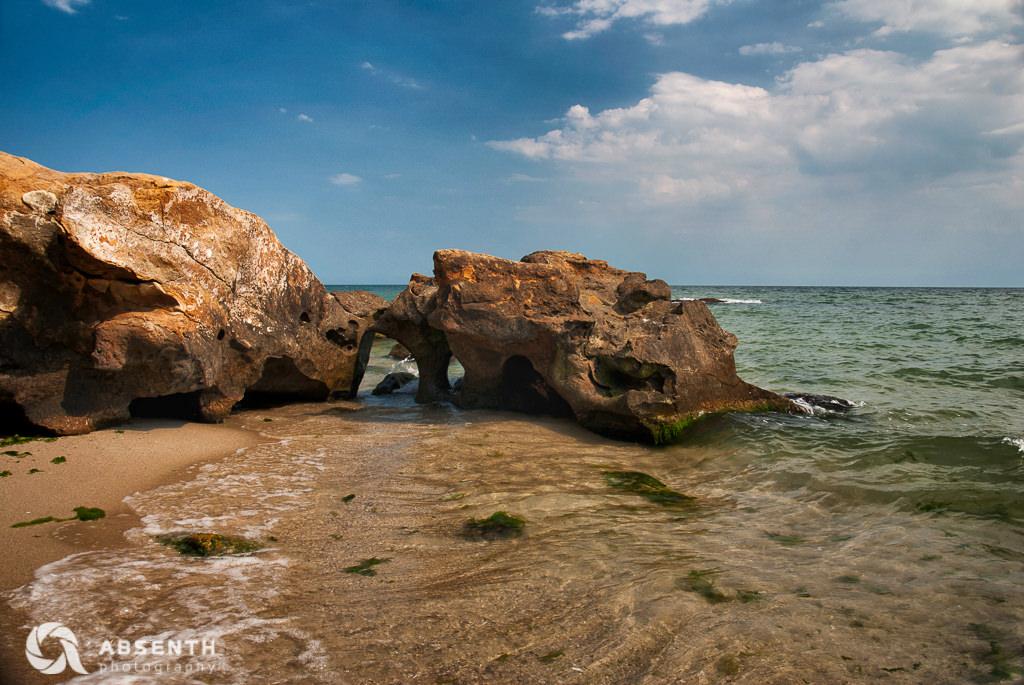 Summer seashore